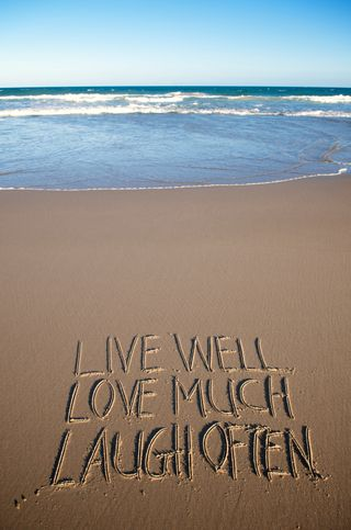 Live well in sand