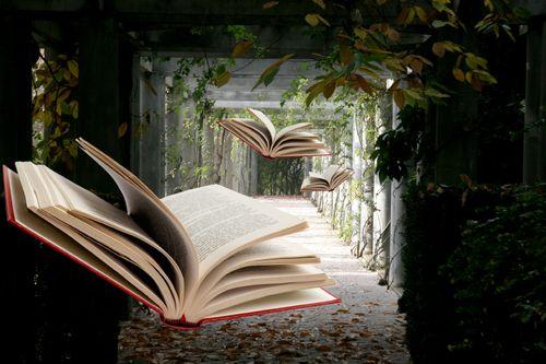 Flying books *