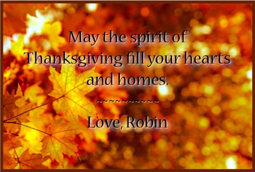 Thanksgiving Post 1