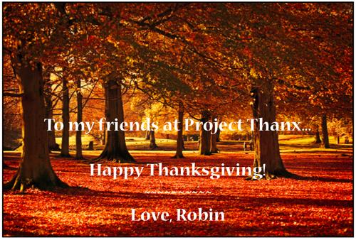 Thanksgiving Post 2