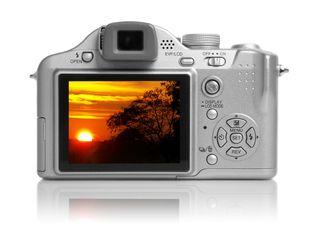 Camera sunset